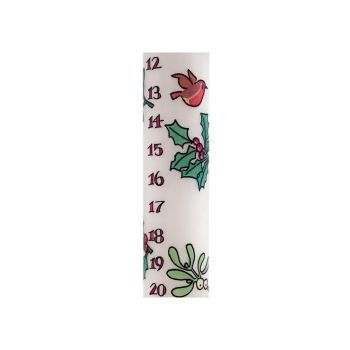 Holly & Ivy Advent Candle