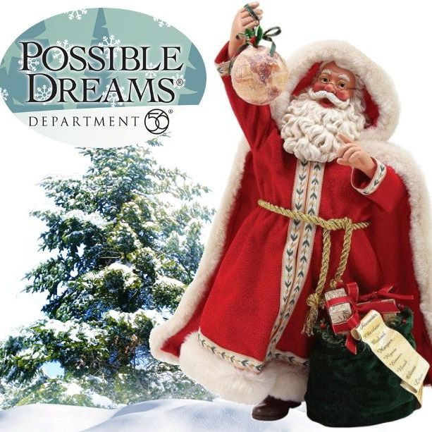Possible Dreams Santa Collection