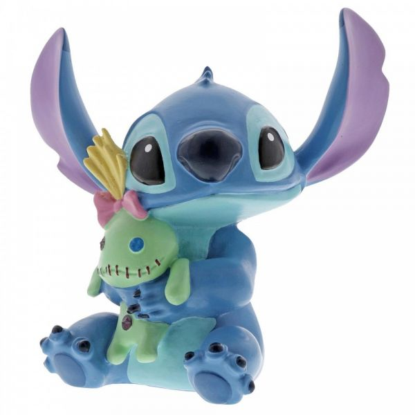 Stitch and Doll Figurine