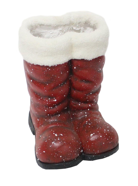 Fun Large Santa Boots - 33cm tall x 24cm wide x 26cm deep
