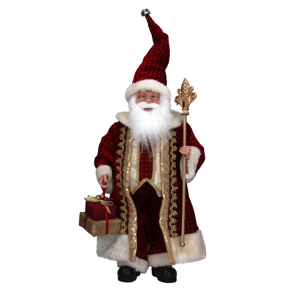 Beautiful Santa Decoration - 65cm to the top of his hat