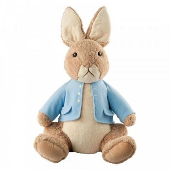 Jumbo Peter Rabbit Plush Toy - Height 90cm x 56cm wide x 40 deep