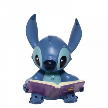 Collectable Disney Showcase Stitch Book Figurine - 9cm high x 6cm wide x 6cm deep