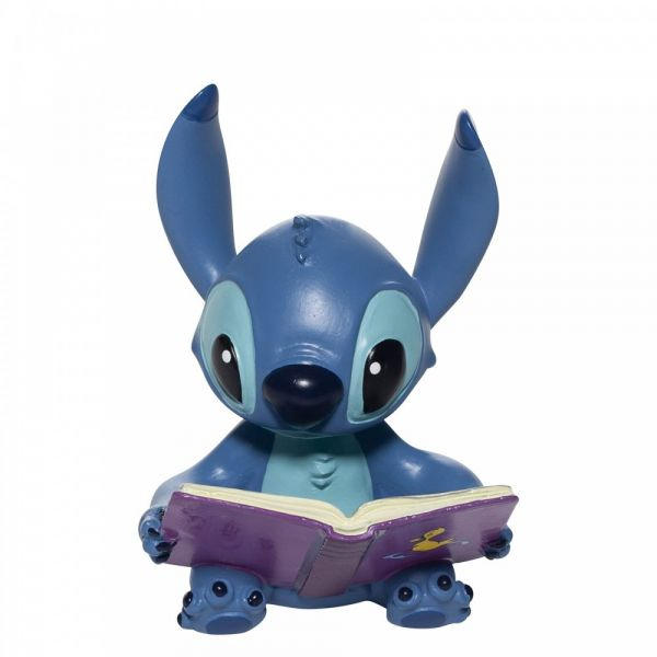 Collectable Disney Showcase Stitch Book Figurine - 9cm high x 6cm wide x 6c