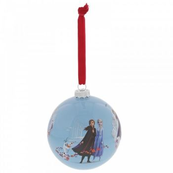 Frozen Bauble - 'Seek the Truth' - 10cm diameter