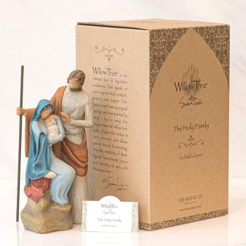 Willow Tree Nativity Scene - The Holy Family - A Child is Born