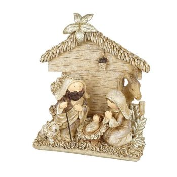 Gorgeous Nativity Scene  - 16cm x 6cm x 18cm