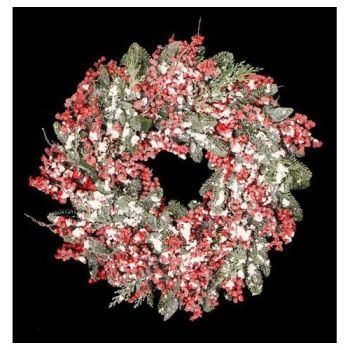Wonderful Large Door or Wall Berry Wreath - Approx. 61cm diameter