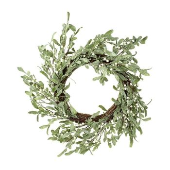 Beautiful Mistletoe Door or Wall Wreath - 51cm Diameter