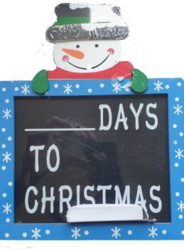 Snowman Countdown to Christmas