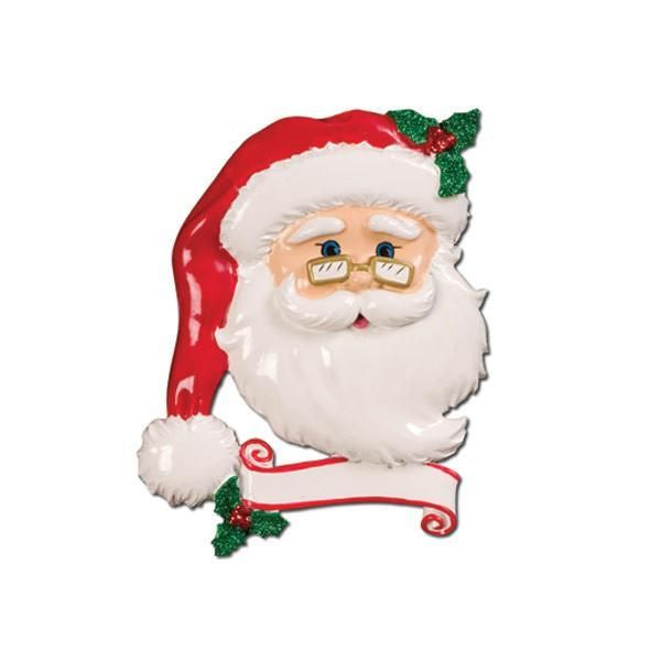 Ceramic Jolly Santa, Personalise for yourself or a loved one at no extra co
