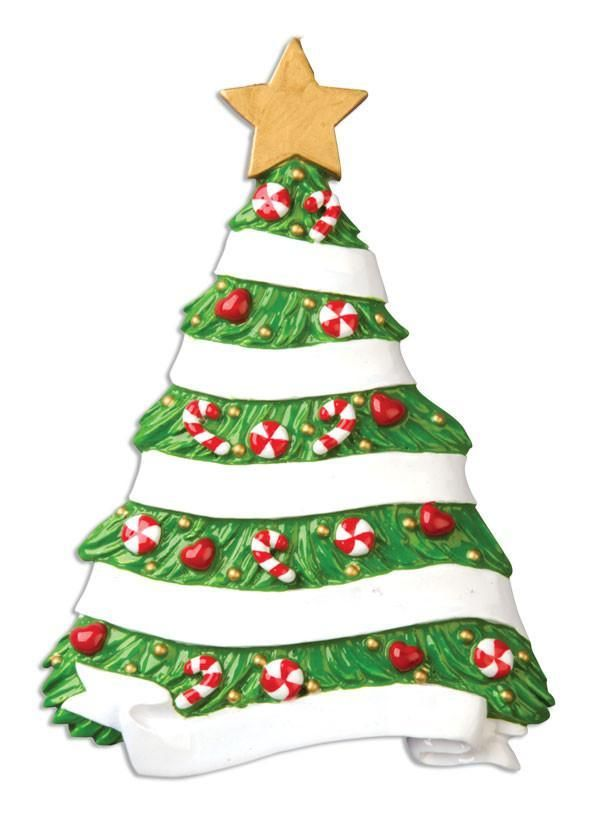 Ceramic Festive Christmas Tree, Personalise for yourself or a loved one at