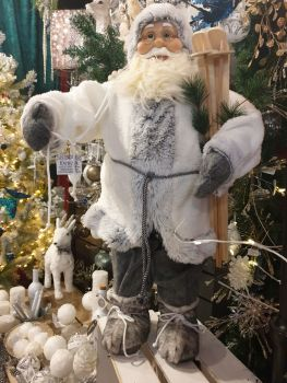 Winter's mist Father Christmas - 80cm