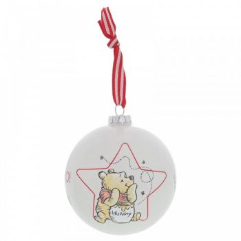 Winnie the Pooh Bauble - 10cm