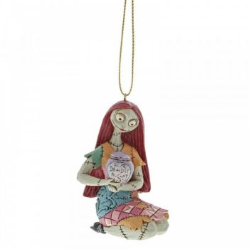 Sally 'The Nightmare Before Christmas' Hanging Ornament by Jim Shore - 7cm tall x 4 wide x 4 deep.