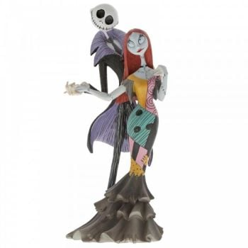 A Nightmare Before Christmas Jack & Sally Figurine by Jim Shore - 22cm H x 7 W x 10 D