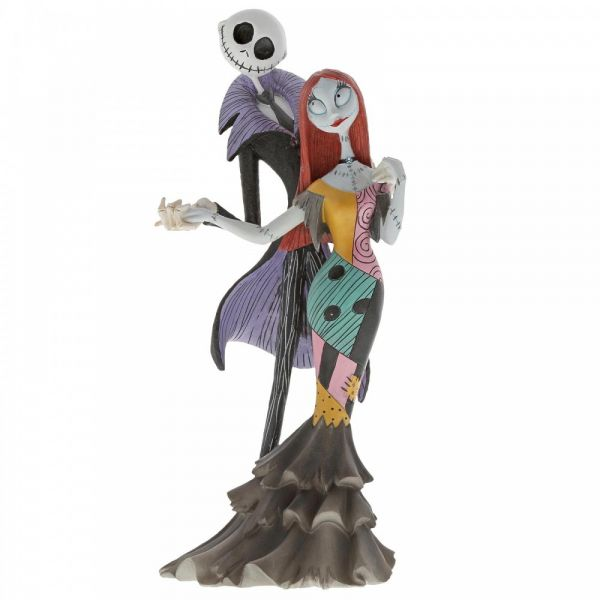 A Nightmare Before Christmas Jack & Sally Figurine by Jim Shore - 22cm H x