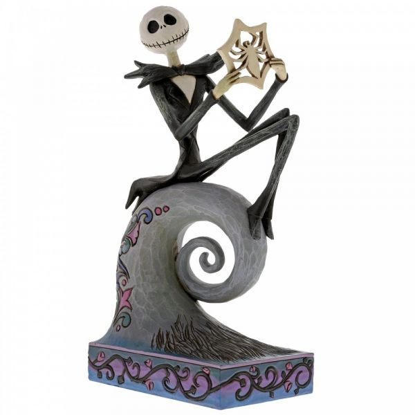 A Nightmare Before Christmas Jack Skellington 'what's this' Figurine by Jim