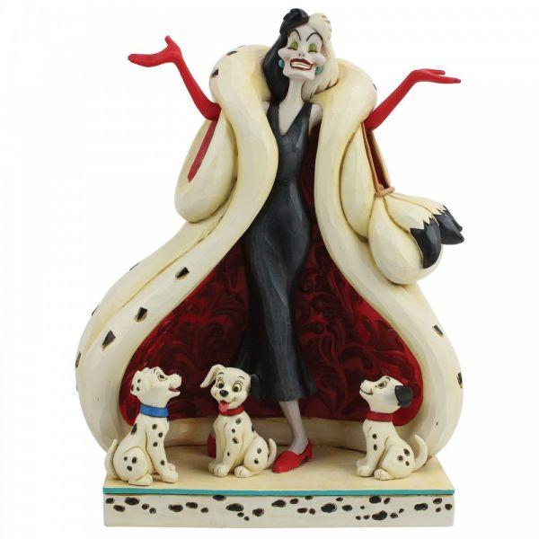 101 Dalmations Cruella De Vil 'The Cute & The Cruel' Figurine by Jim Shore