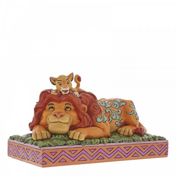 'A Fathers Pride' Simba & Mufasa Figurine by Jim Shore - 11cm H x 19.5 W x