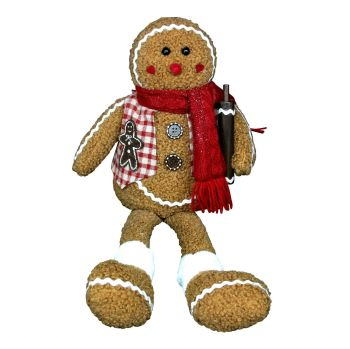 Gingerbread Man Shelf Sitter - 55cm tall