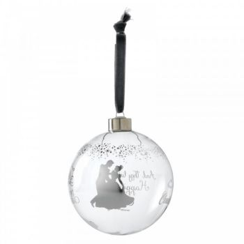 Cinderella Wedding Bauble - 10cm