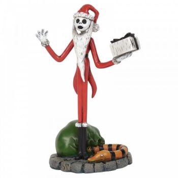 A Nightmare Before Christmas 'Jack Steals Christmas' Figurine by Jim Shore - 10cm H x 5 W x 7 D