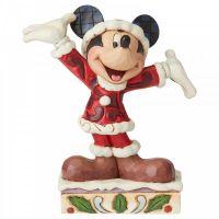 Mickey Mouse 'Tis a Splendid Season' - 12cm h x 6cm w x 10.5 d
