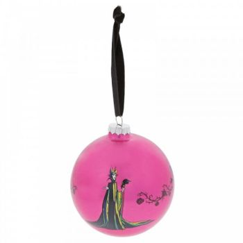 Sleeping Beauty 'A Forest of Thorns' Maleficent Bauble - 10cm