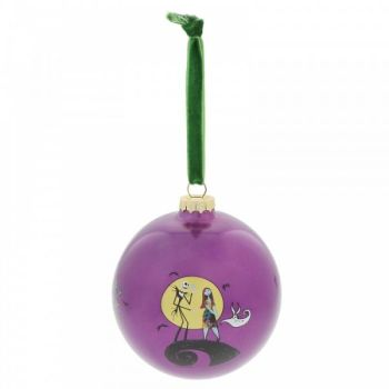 The Night Before Christmas 'Festive Frights' Bauble - 10cm