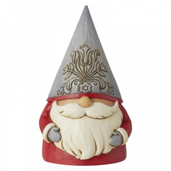 'Jolly' Gonk Gnome figurine by Jim Shore - 13cm tall x 7.5 wide x 7.2 deep.