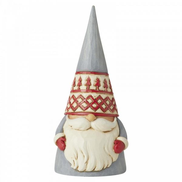 'Nordic Noel' Nordic Gonk Gnome figurine by Jim Shore - 15cm tall x 7 wide