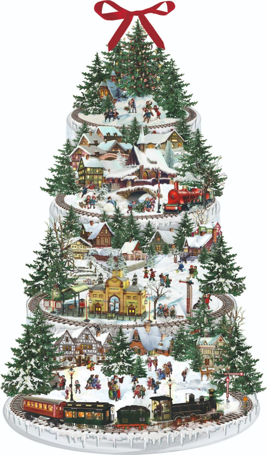 Christmas Railway Advent Calendar