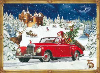 Santa's Road Trip  - A4  Advent Calendar