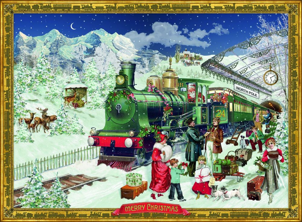 The Christmas Express  - A4  Advent Calendar