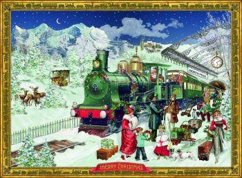 The Christmas Express  - A4  Advent Calendar