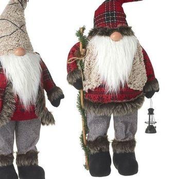 Gorgeous Santa Gonk Holding a Lantern - 66cm tall