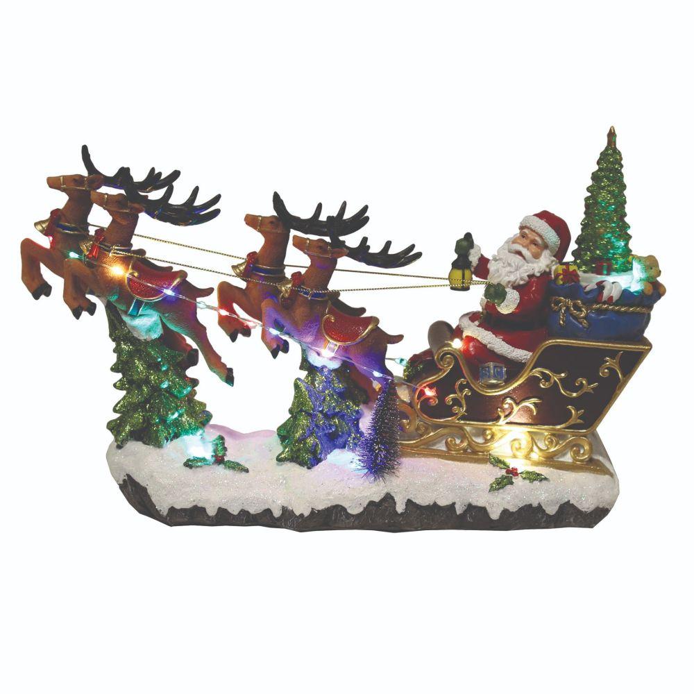 Santa in his Sleigh Musical