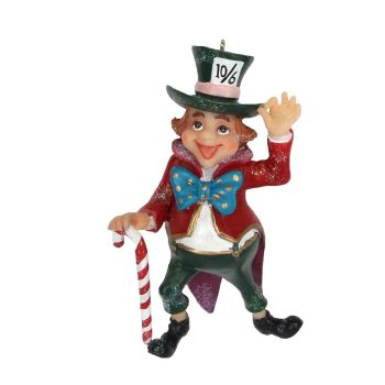 The 'Mad Hatter' Alice in Wonderland Character - 9cm x 6.5cm x 3cm