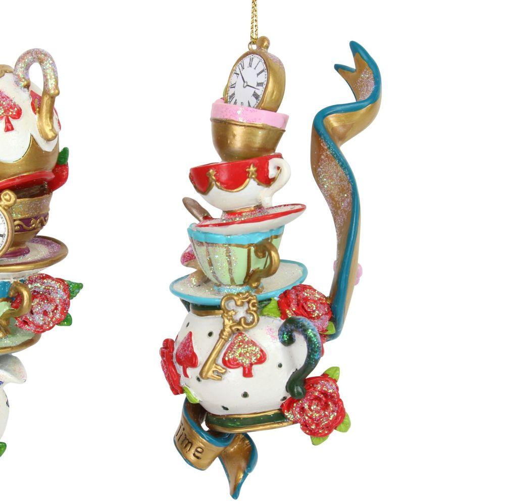 The 'Tea Pots' Alice in Wonderland Character - 12cm x 5cm x 5cm