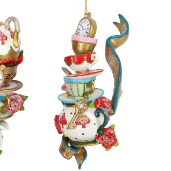 The 'Tea Pots' Alice in Wonderland Character - 12cm x 5cm x 5cm