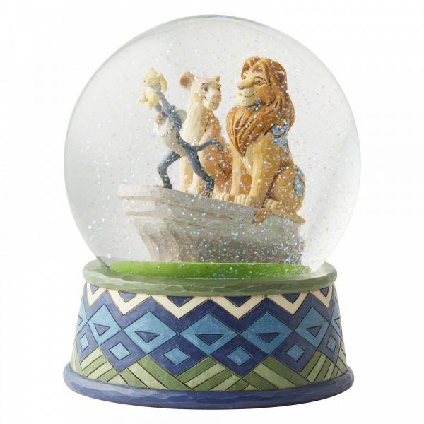 The Lion King Snow Globe - 18cm tall x 15cm diameter