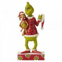 Grinch & Max Figurine - 19.5cm H x 9.5 W x 5.5 Deep