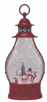 Snowman Red lantern spinner