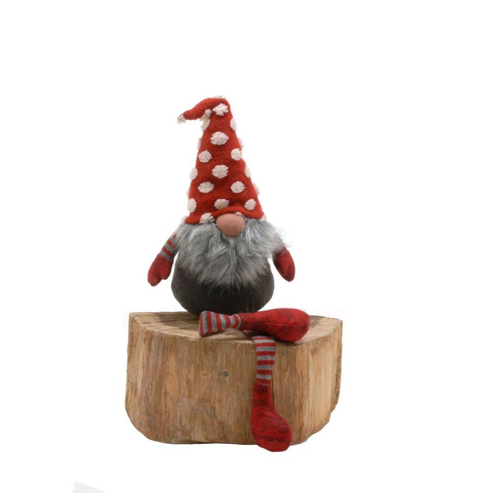 Spotty Hat Dangly Leg Gonk
