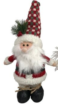 Cute Standing Soft Father Christmas