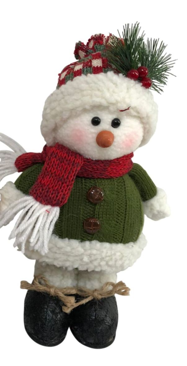 Cute Standing Soft  Snowman