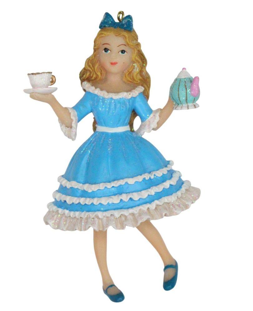 Alice in Wonderland Character - 10cm x 7cm x 4cm