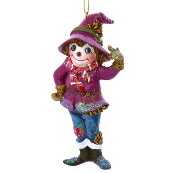 The Wizard of OZ Scarecrow Bauble - 11cm x 6cm x 4cm