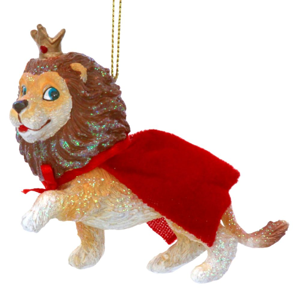The Wizard of OZ Cowardly Lion Bauble - 10cm x 8cm x 4cm